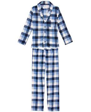 Pijama-Masculino-Aberto-Soft-Any-Any-Xadrez