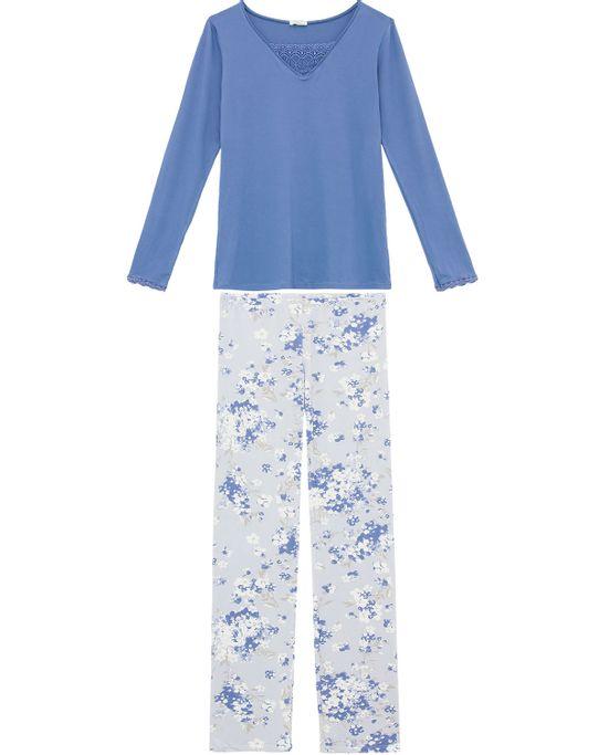 Pijama-Feminino-Visco-Premium-Any-Any-Calca-Floral