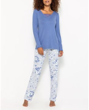 Pijama-Feminino-Visco-Premium-Any-Any-Calca-Floral
