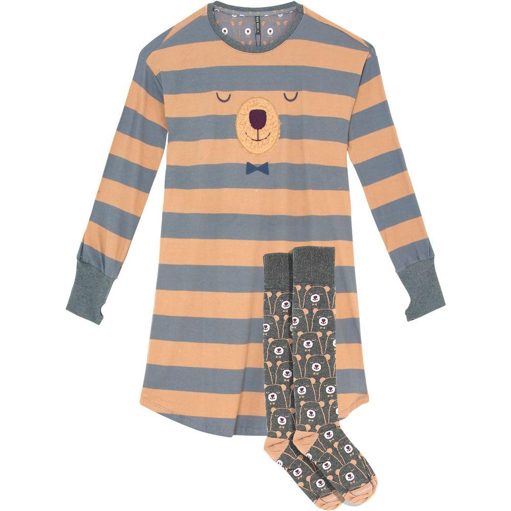 Camisao-com-Meiao-Lua-Lua-Listras-Urso-Peluciado