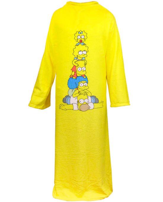 Cobertor-com-Mangas-Simpsons-Zona-Criativa