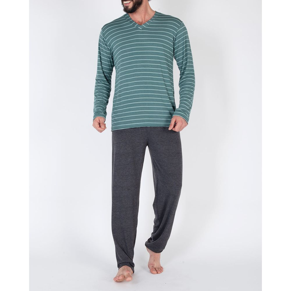 Pijama-Masculino-Longo-Toque-Viscolycra-Listras
