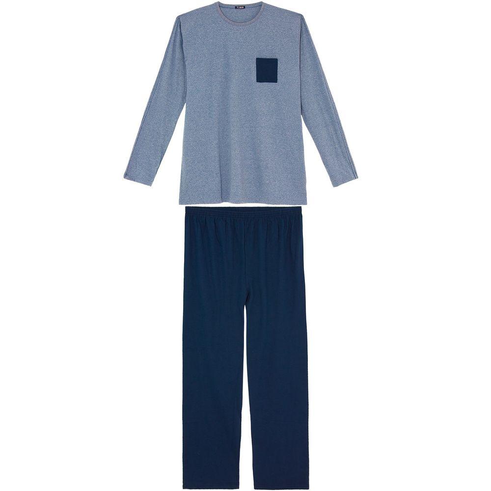 Pijama-Plus-Size-Masculino-Longo-Toque-Algodao-Bolso
