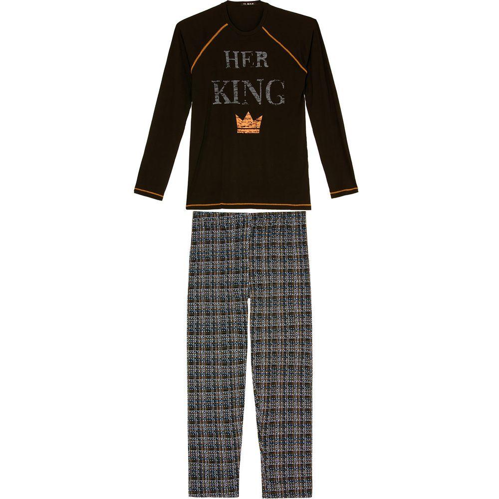 Pijama-Masculino-Longo-Toque-Viscolycra-King