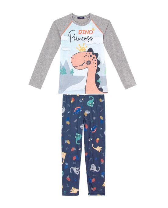 Pijama-Infantil-Feminino-Toque-Malha-Dinossauro
