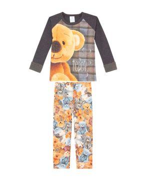Pijama-Infantil-Feminino-Toque-Molecotton-Modal-Urso
