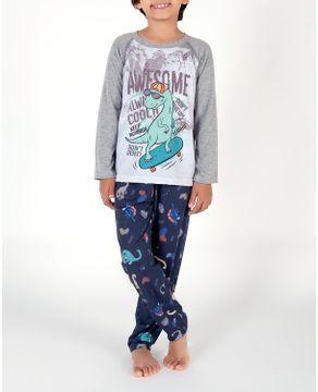 Pijama-Infantil-Masculino-Toque-Malha-Dinossauro