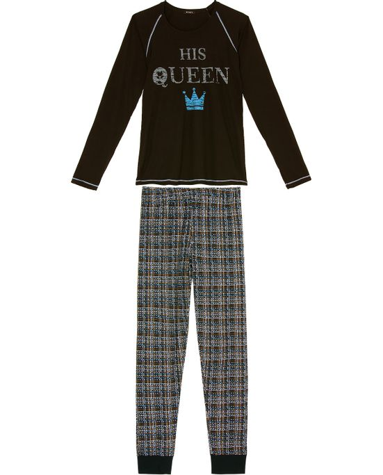 Pijama-Feminino-Longo-Toque-Viscolycra-Queen