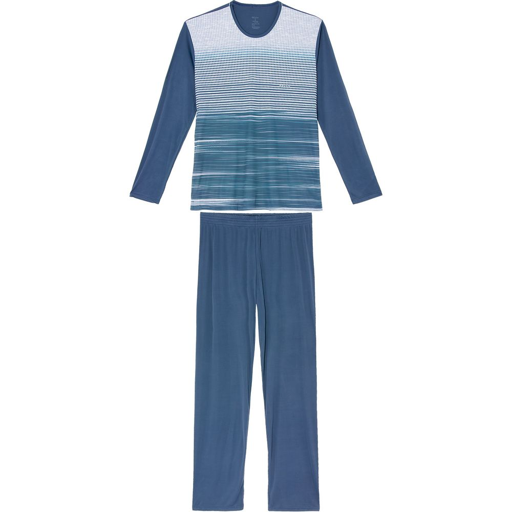 Pijama-Masculino-Longo-Recco-Microfibra-Grafismo