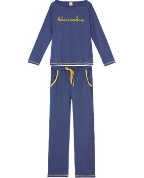 Pijama-Feminino-Lua-Encantada-Malha-Meslca-Hashtag
