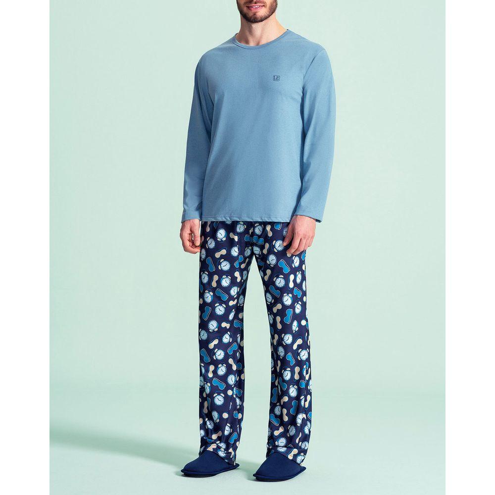 Pijama-Masculino-Lua-Encantada-Algodao-Calca-Estampa