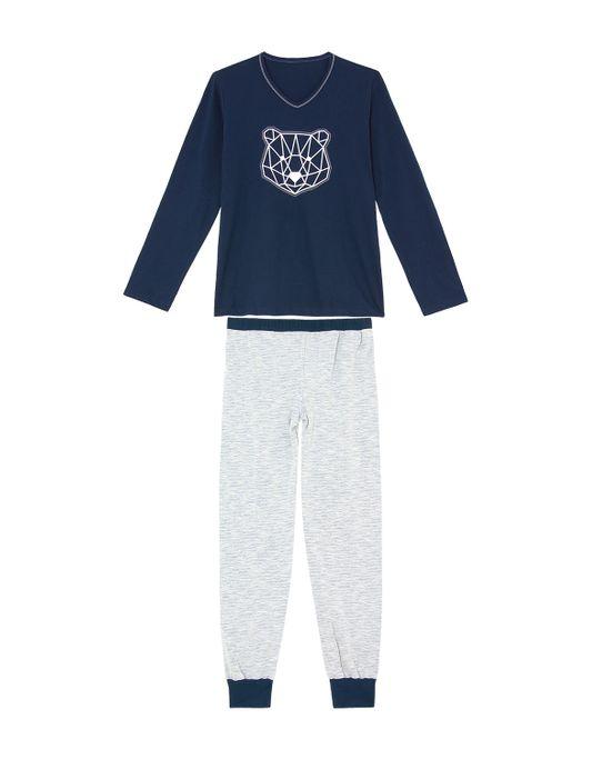 Pijama-Infantil-Masculino-Recco-100--Algodao-Urso