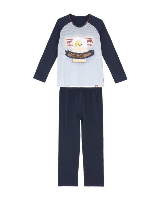 Pijama-Infantil-Masculino-Recco-Moletinho-Pao-com-Ovo