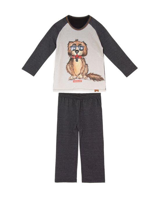 Pijama-Infantil-Masculino-Recco-Moletinho-Cachorro
