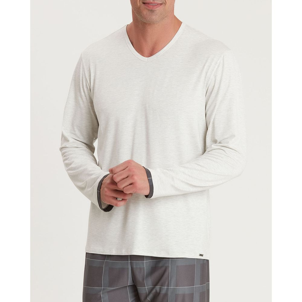 Pijama-Masculino-Recco-Visco-Cetim-Flanelado-Xadrez