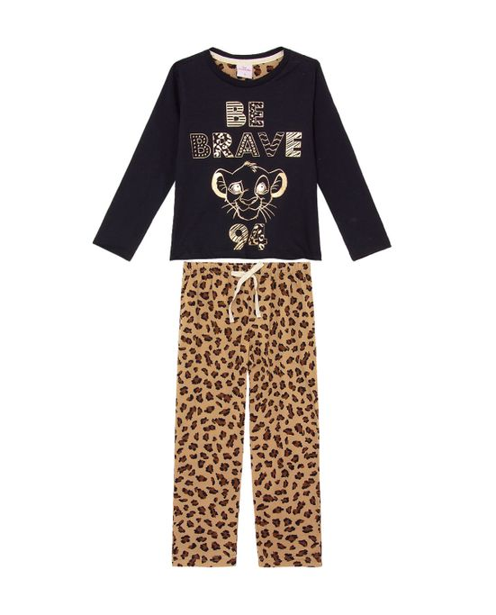 Pijama-Infantil-Feminino-Disney-Algodao-Rei-Leao