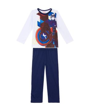 Pijama-Infantil-Masculino-Algodao-Marvel-Capitao-America