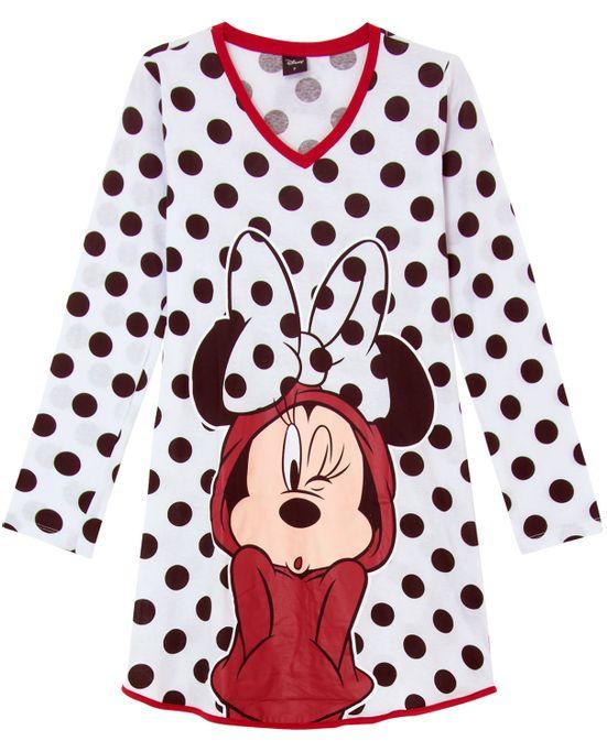 Camisola-Minnie-Disney-Algodao-Maxi-Poa