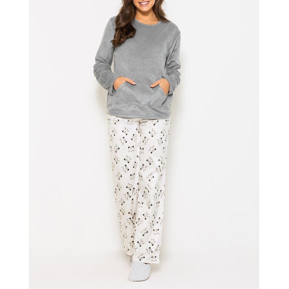 Pijama-Feminino-Any-Any-Soft-Bolso-Calca-Guaxinim