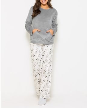 Pijama-Feminino-Any-Any-Soft-Bolso-Calca-Guaxinim