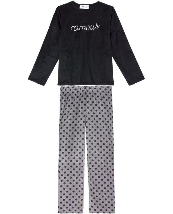 Pijama-Feminino-Any-Any-Soft-Amour-Calca-Poa