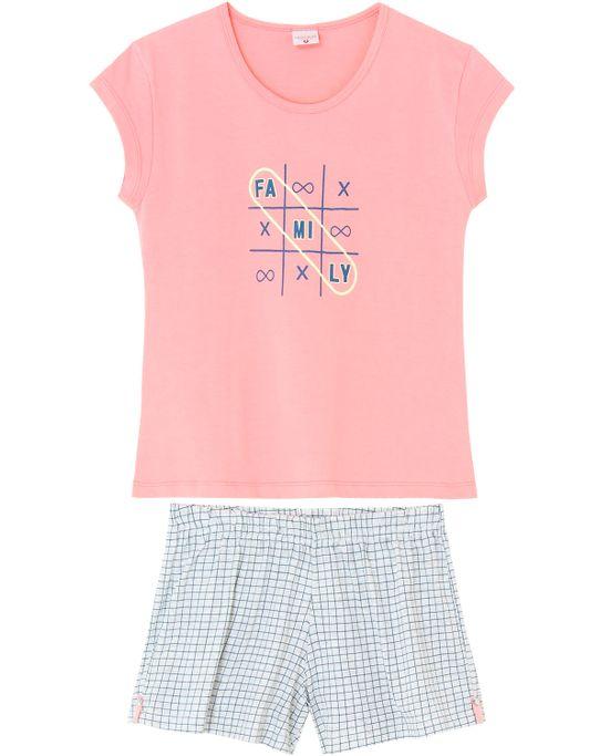 Pijama-Curto-Feminino-Lua-Encantada-Algodao-Family