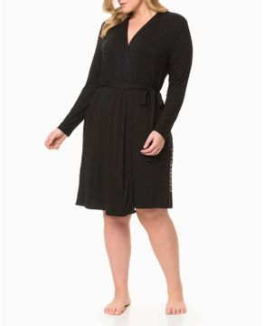 Robe-Feminino-Calvin-Klein-Plus-Size-Viscolight-Logo