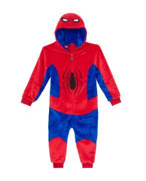 Pijama-Fantasia-Infantil-Homem-Aranha-Kigurumi