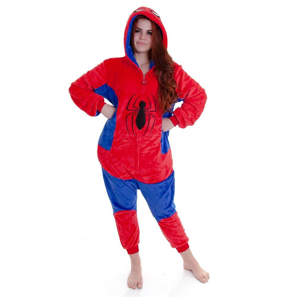 Pijama-Fantasia-Homem-Aranha-Kigurumi-Zona-Criativa