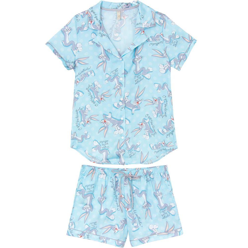 Pijama-Curto-Feminino-Aberto-Acuo-Cetim-Pernalonga