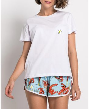 Pijama-Curto-Feminino-Acuo-Algodao-The-Flash