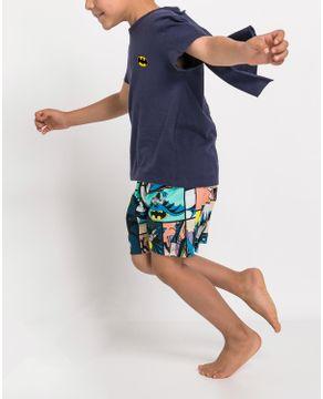 Pijama-Infantil-Masculino-Acuo-Algodao-Batman-Capa