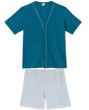 Pijama-Masculino-Aberto-Lua-Encantada-Short-Vies