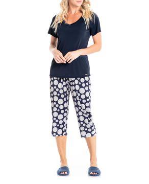 Pijama-Capri-Daniela-Tombini-Microfibra-Amni-Maxi-Poa