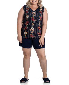 Pijama-Plus-Size-Feminino-Toque-Viscolycra-Floral