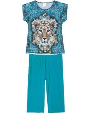 Pijama-Capri-Toque-Microfibra-Lenco-Onca