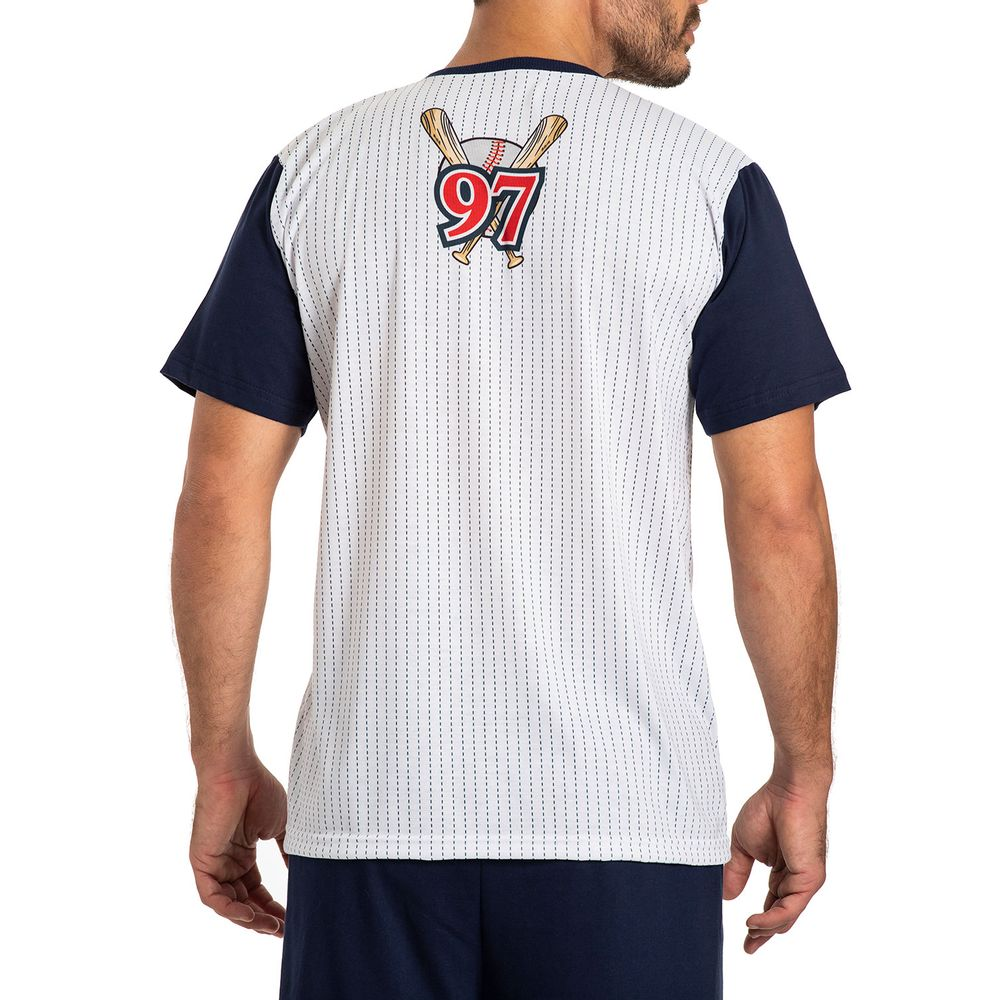 Pijama-Masculino-Toque-Poliplex-Algodao-Baseball