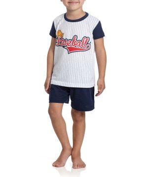 Pijama-Infantil-Masculino-Toque-Poliplex-Baseball