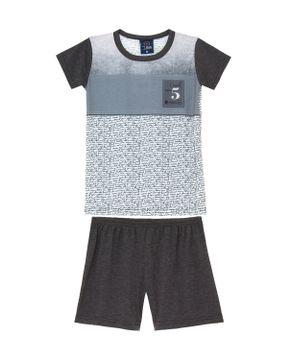 Pijama-Infantil-Masculino-Toque-Poliplex-Texto