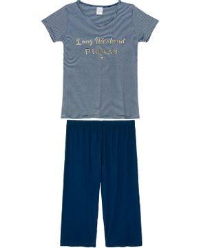 Pijama-Capri-Toque-Viscolycra-Listras