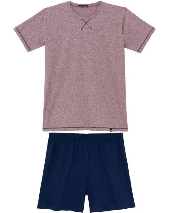 Pijama-Masculino-Toque-Algodao-Costura-Gola