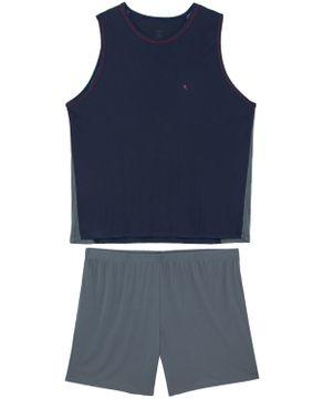 Pijama-Plus-Size-Masculino-Recco-Regata-Microfibra