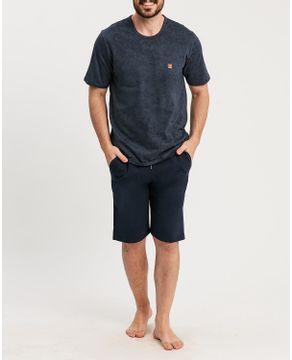 Pijama-Masculino-Curto-Recco-Malha-Comfort-Stone