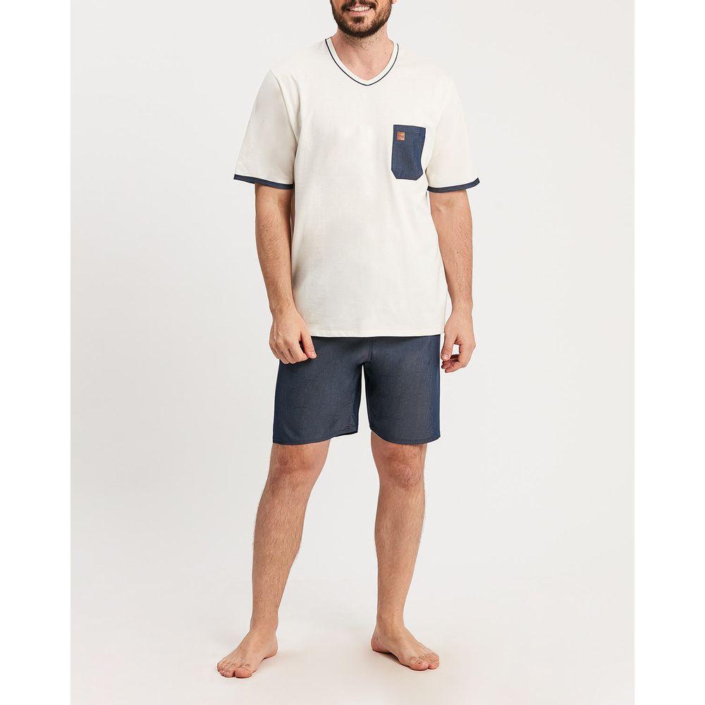 Pijama-Masculino-Curto-Recco-100--Algodao-Bolso
