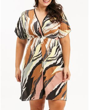 Kaftan-Plus-Size-Recco-Supermicro-Animal-Print