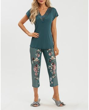 Pijama-Capri-Recco-Renda-Microfibra-Amni-Floral