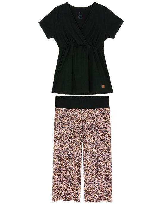 Pijama-Pantacourt-Recco-Viscolycra-Transpassado-Onca