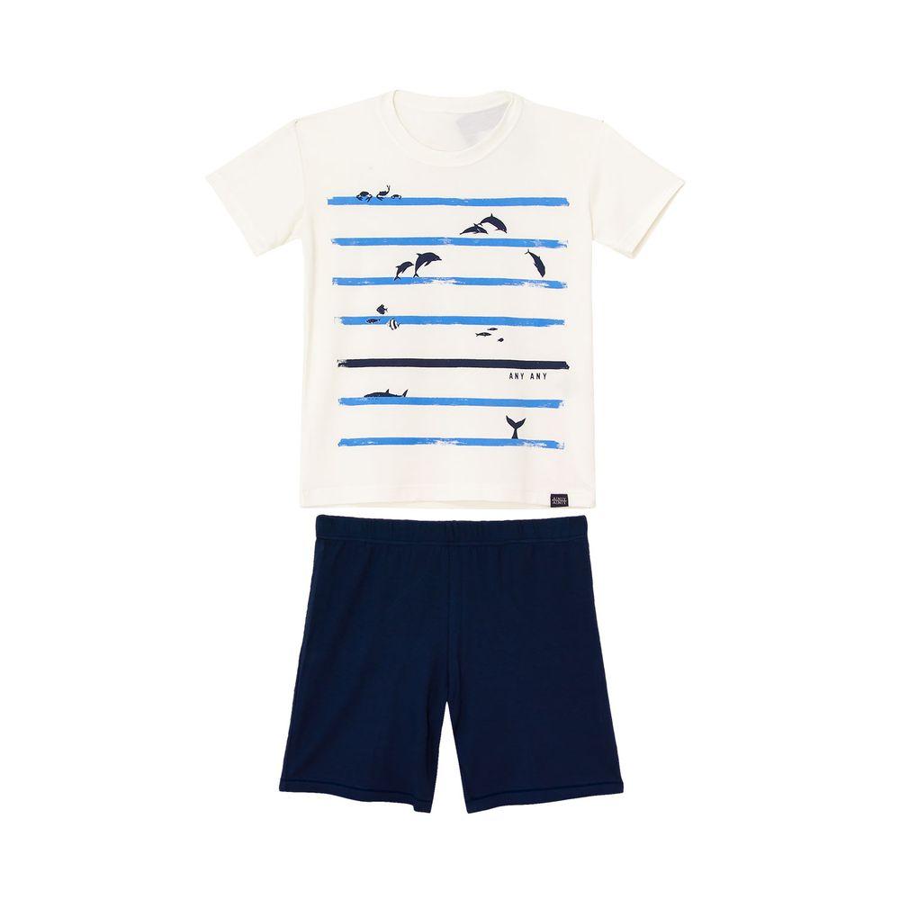Pijama-Infantil-Masculino-Any-Any-Visco-Premium-Golfinhos