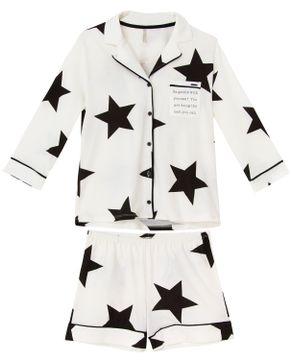 Pijama-Feminino-Aberto-Lua-Lua-Mercerizada-Estrelas