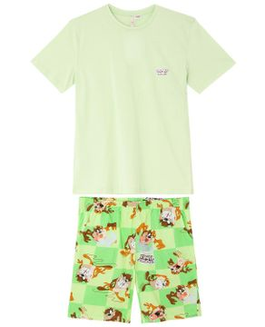 Pijama-Masculino-Curto-Acuo-100--Algodao-Taz